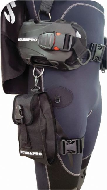 SCUBAPRO BUOYANCY SPARES -  HYDROS PRO CARGO THIGH POCKET
